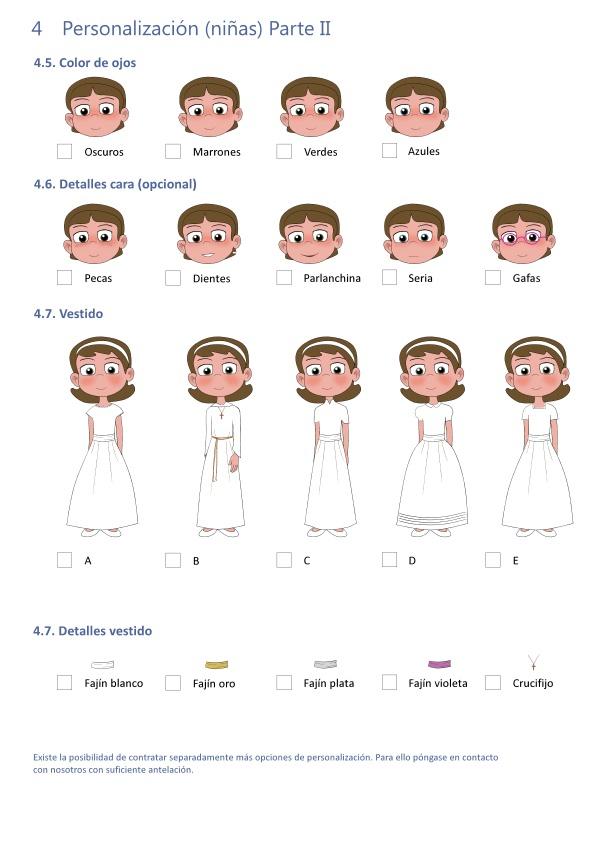 Personalización Recordatorio página 2